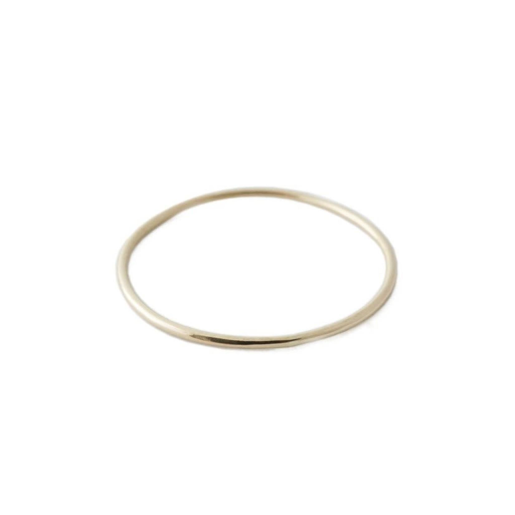 Honeycat Jewelry Honeycat Skinny Stacking Rings 14K Gold