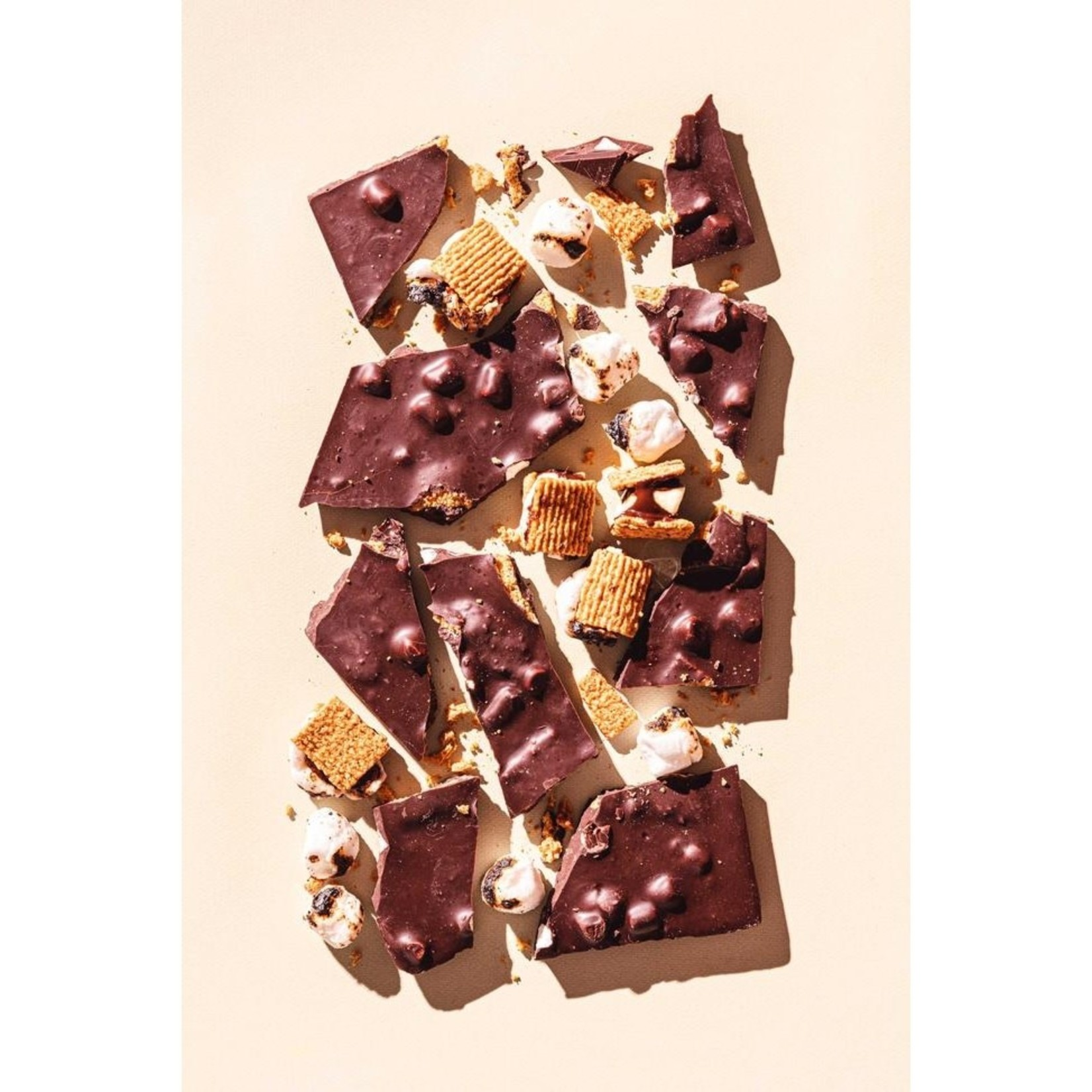 Compartes Chocolate Compartes Campfire S'Mores Chocolate Bar
