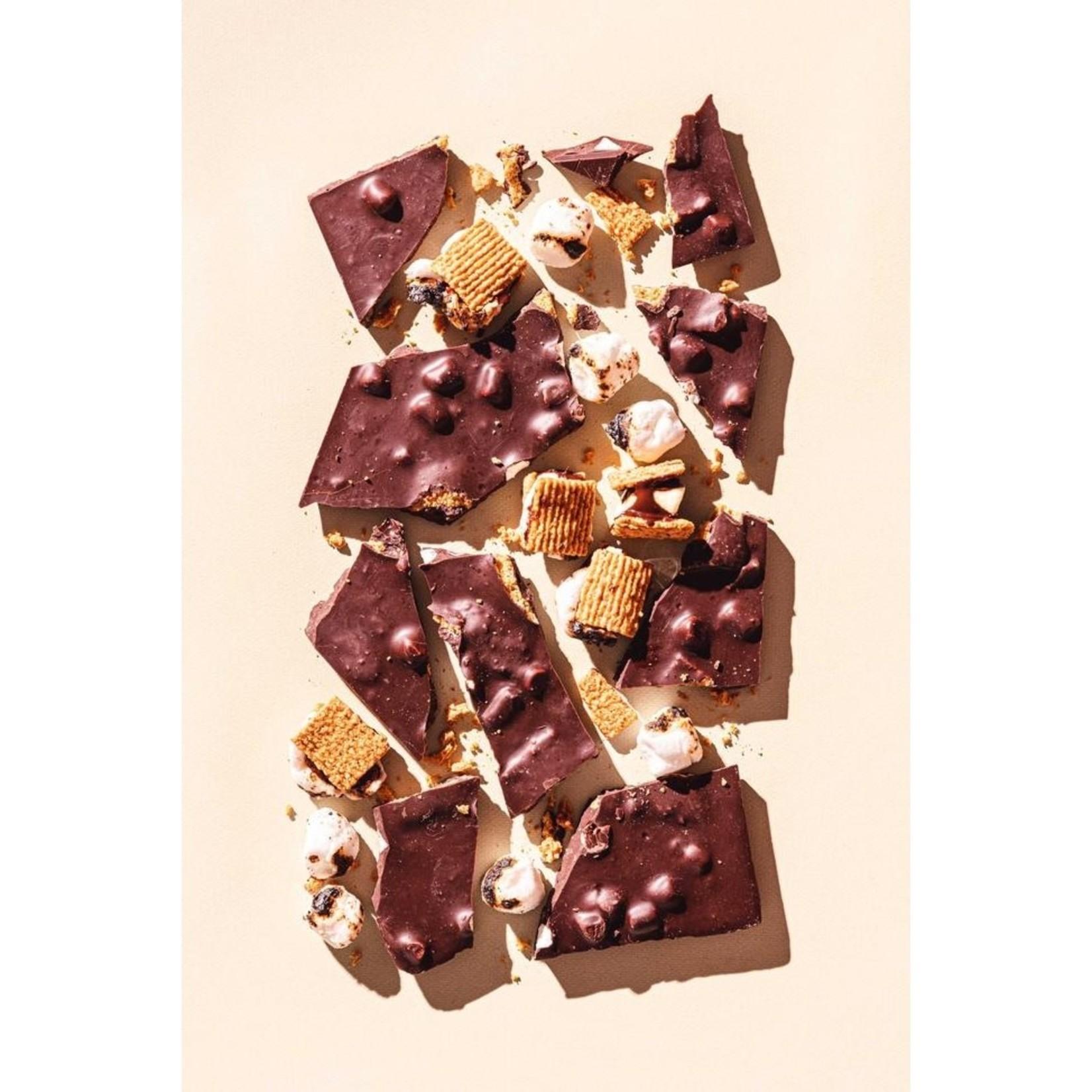 Compartes Chocolate Compartes Chocolate Campfire S'Mores Chocolate Bar