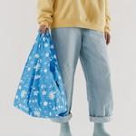 Baggu Baggu Reusable Bag Standard Floral Sun Print-Blue