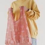 Baggu Baggu Reusable Bag Standard Floral Sun Print-Pink