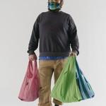 Baggu Baggu Reusable Bag Standard Set of Three - Afternoon Stripes