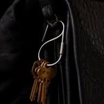 Craighill Craighill Offset Keyring Stainless Steel