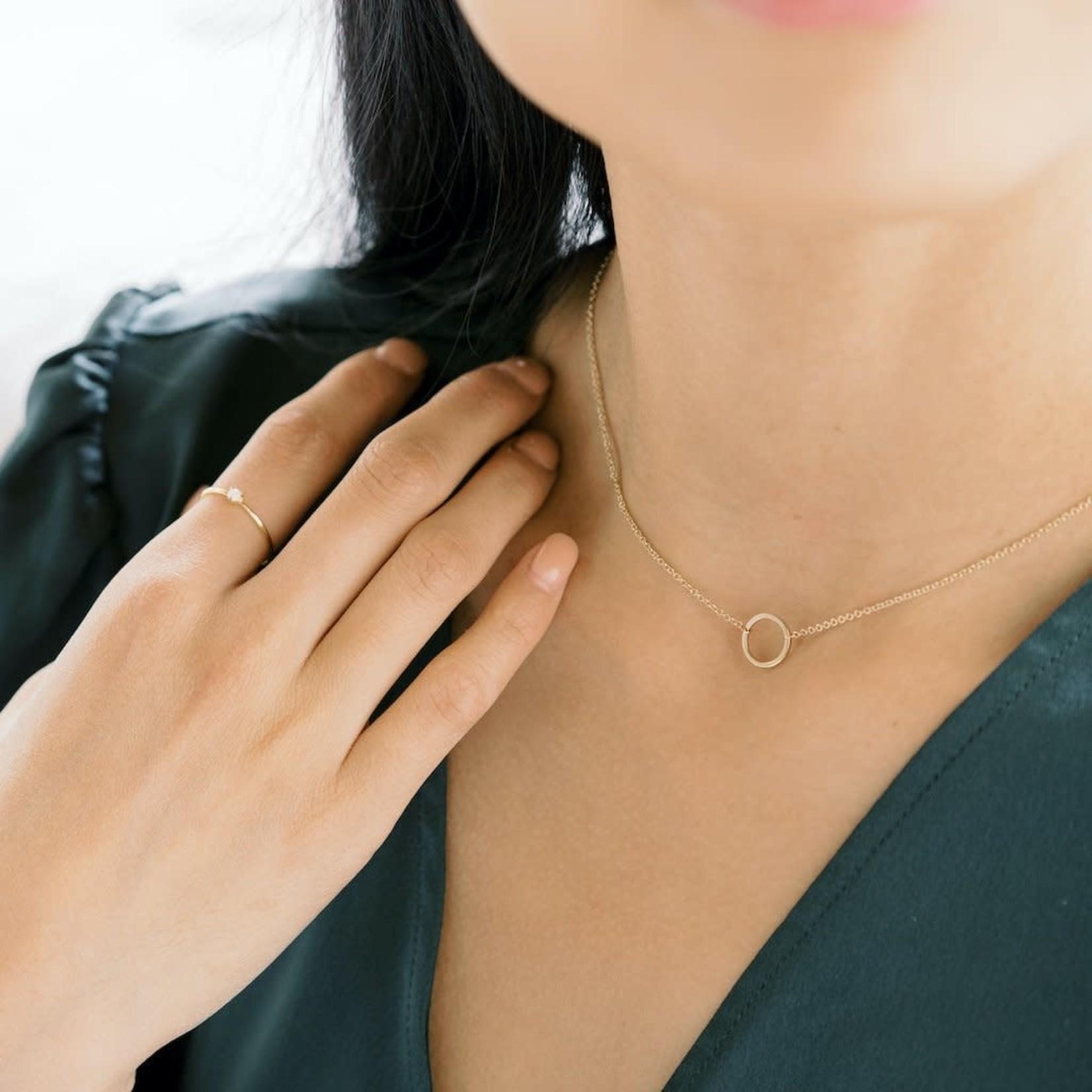 Honeycat Jewelry Honeycat Orb Ring Opal Gold