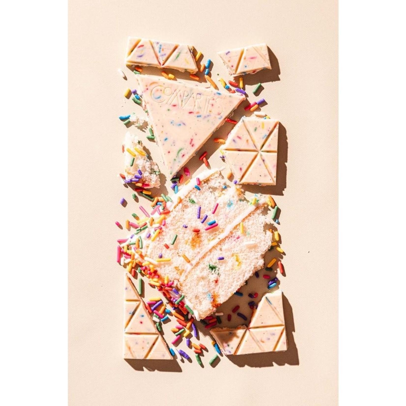 Compartes Chocolate Compartes Birthday Cake Chocolate Bar