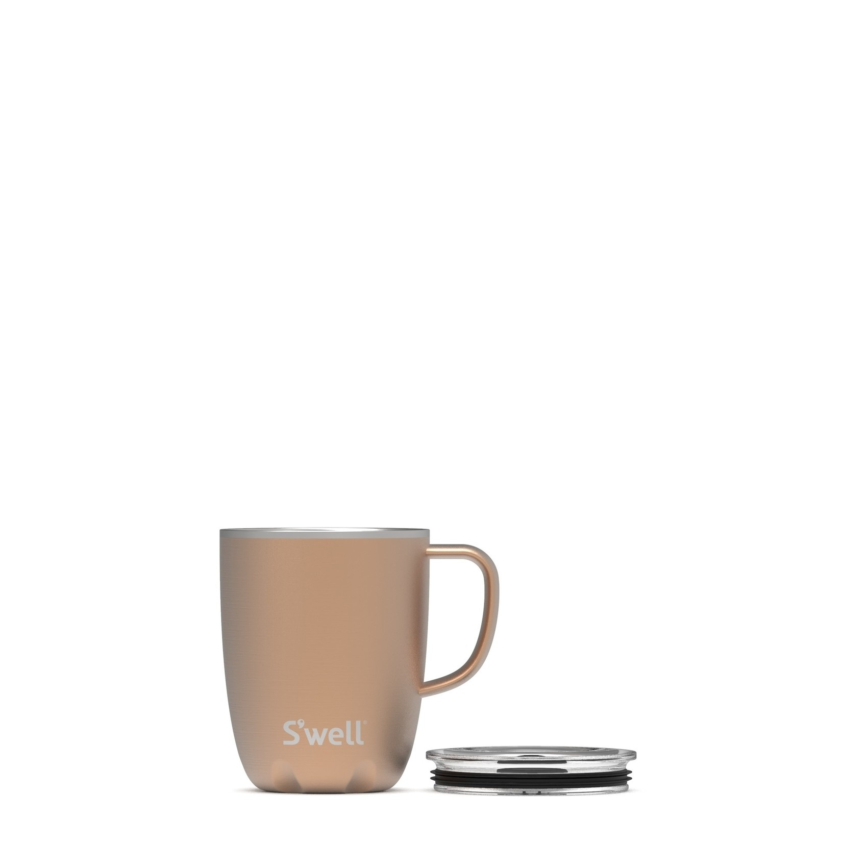S'well S'well Bottle 12oz Tumbler Mug with Handle/Lid Pyrite