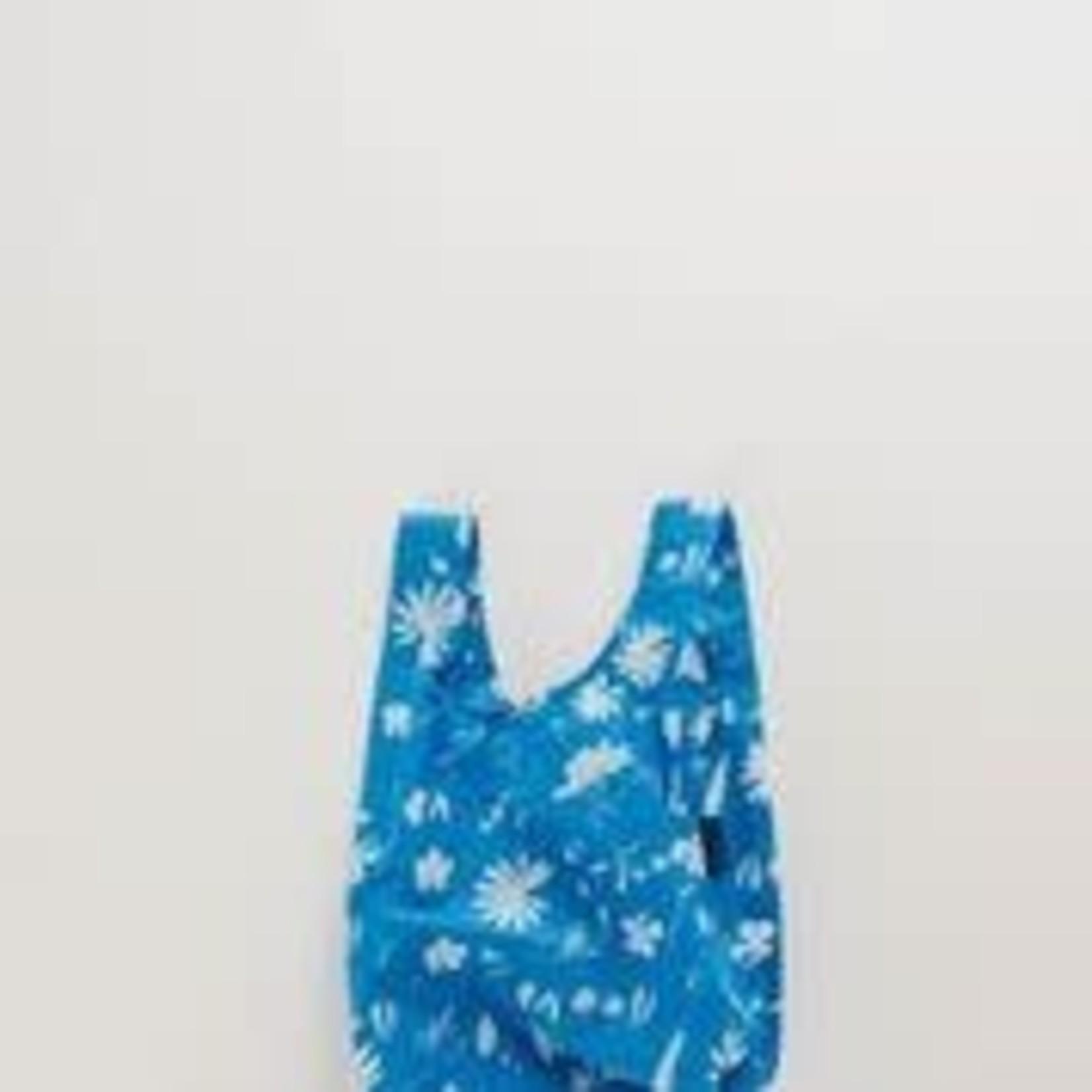Baggu Baggu Reusable Bag Baby Floral Sun Print-Blue