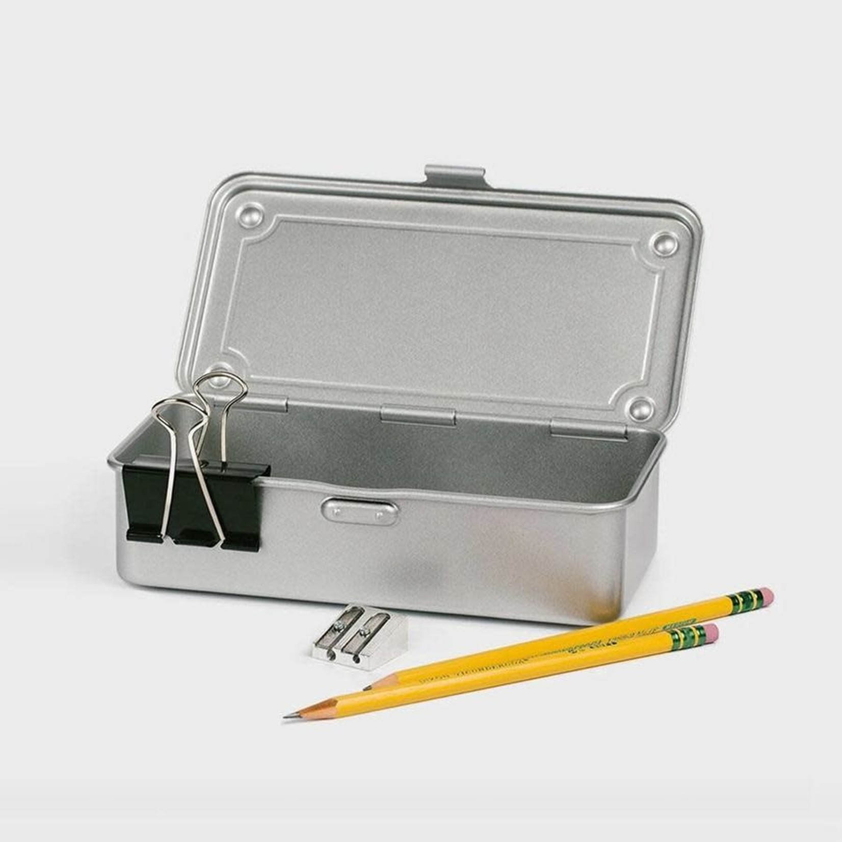 Toyo Steel Stackable Storage Box T-190 Silver