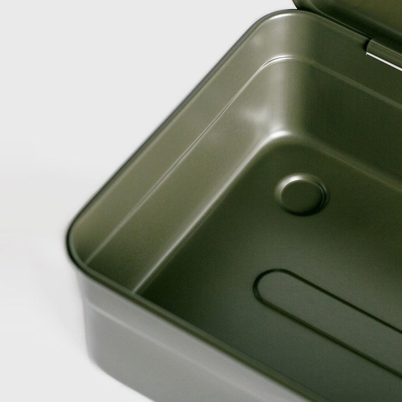 Toyo Toyo Steel Toolbox with Top Handle Y-350 Black