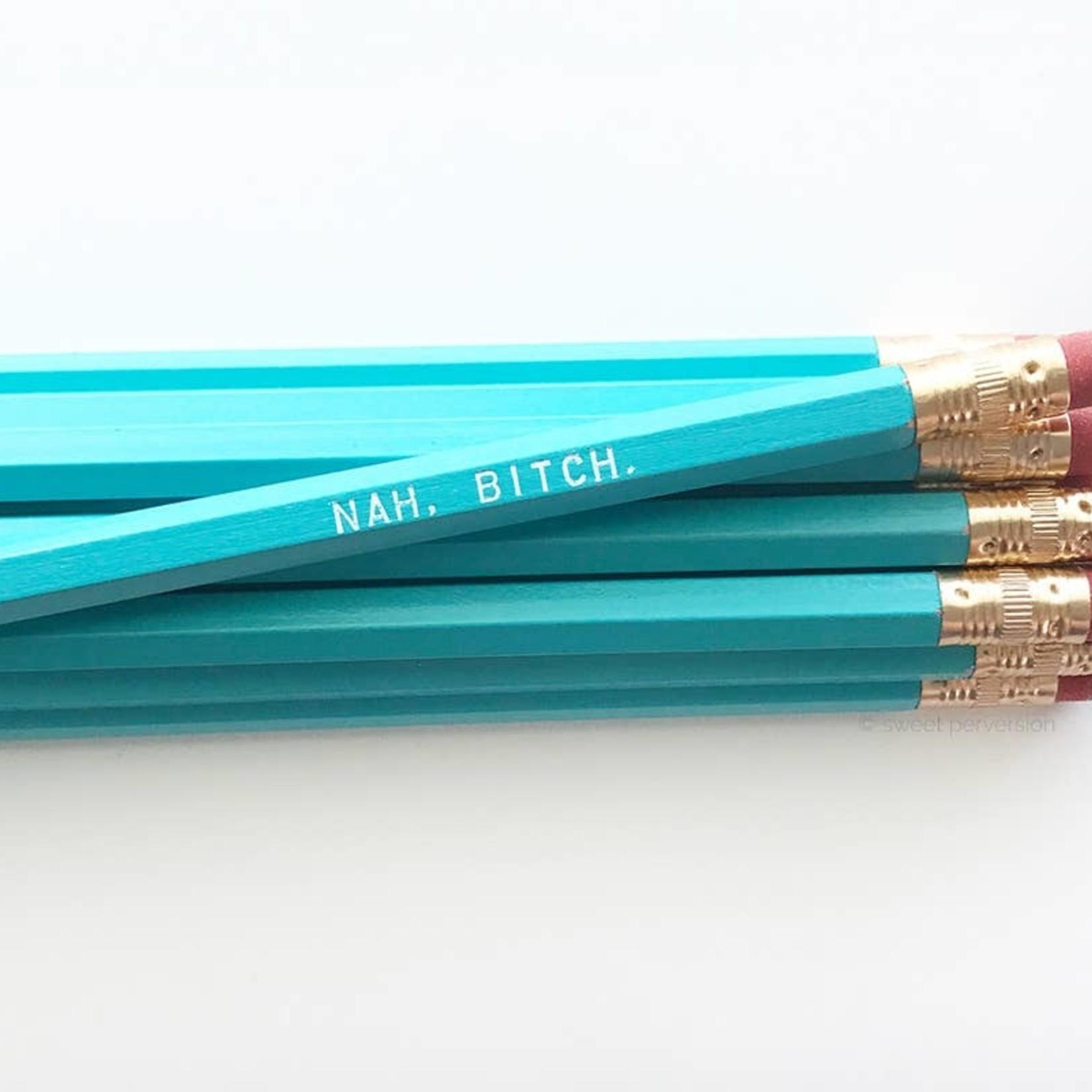 Sweet Perversion Sweet Perversion Sweary Pencil Blue Nah Bitch
