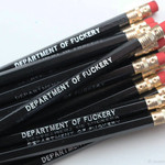 Sweet Perversion Sweet Perversion Sweary Pencil Black Department of Fuckery