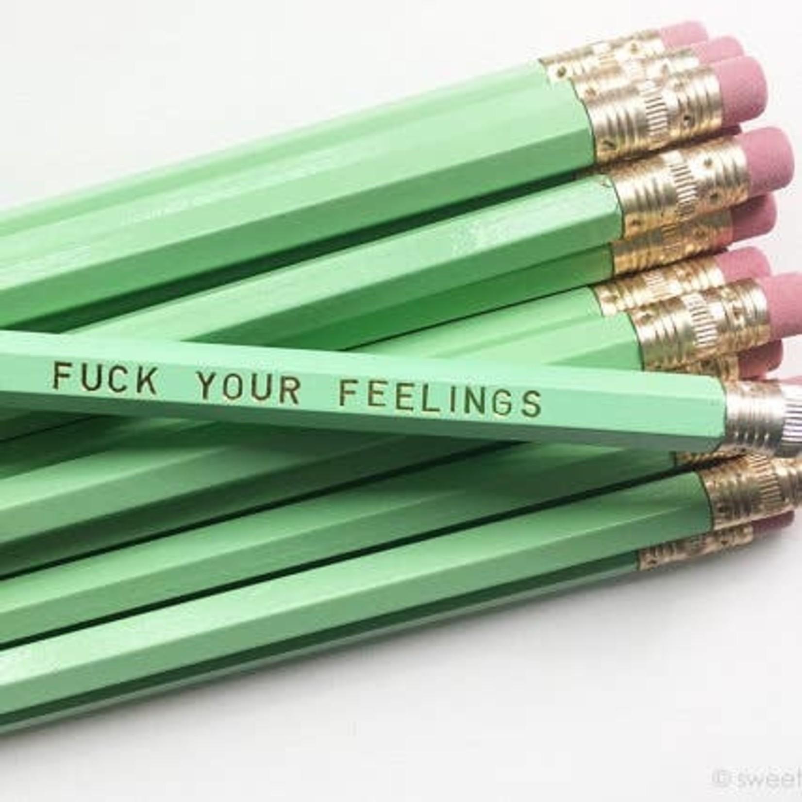 Sweet Perversion Sweet Perversion Sweary Pencil Green Fuck Your Feelings