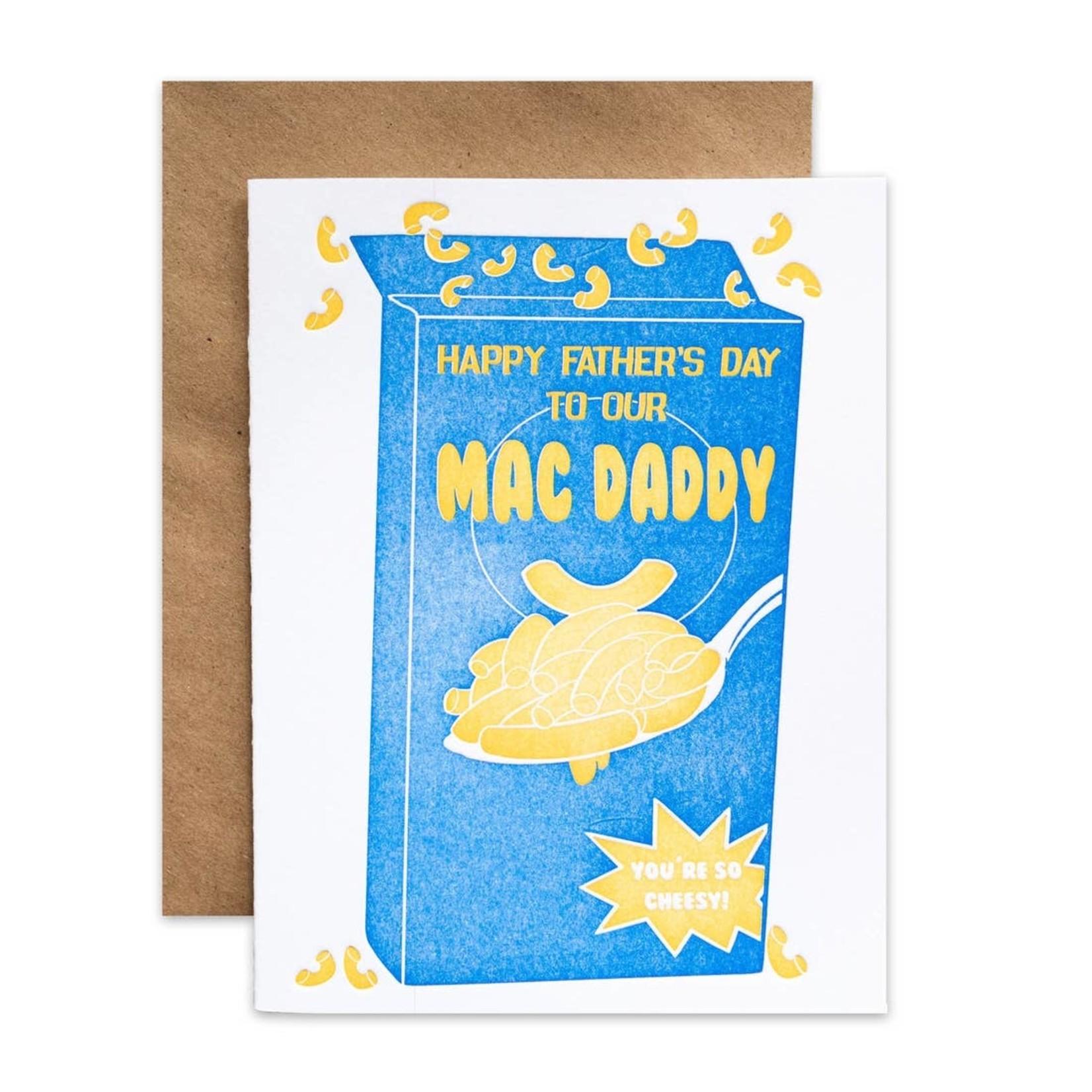 Riva Letterpress Mac n Cheese Daddy