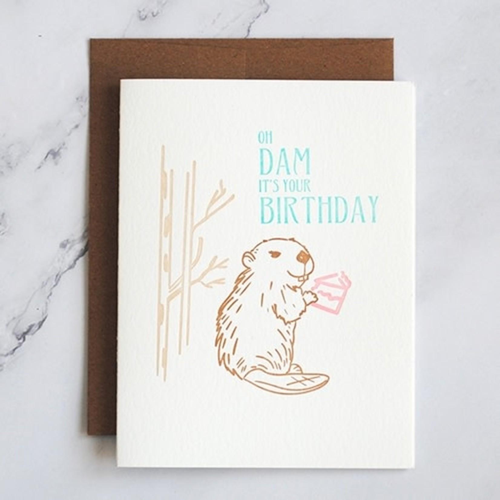 Stack Creative Stack Creative Oh Dam Beaver Birthday