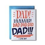Ladyfingers Letterpress Ladyfingers Dad Yelling I Love You