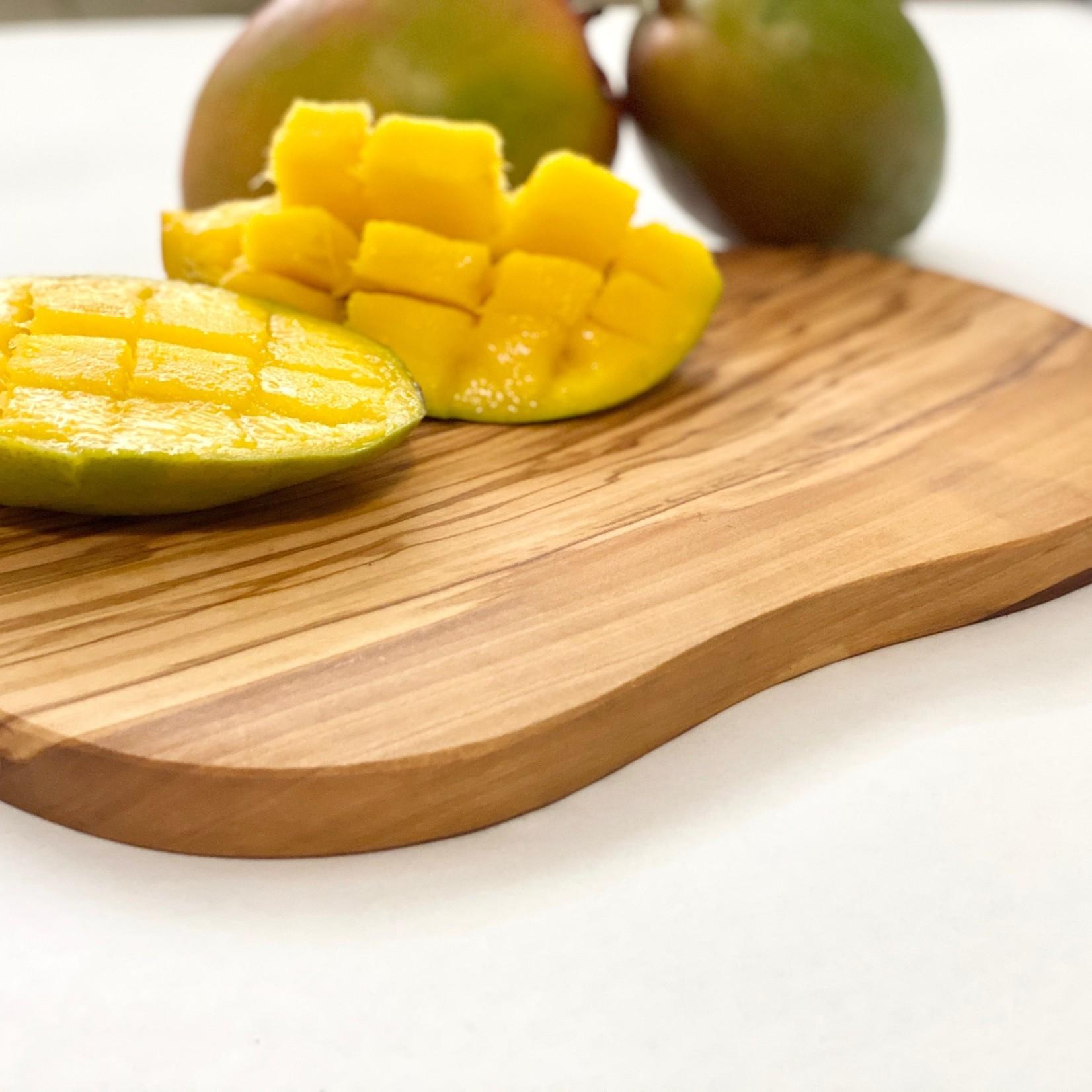 """Natural OliveWood Natural OliveWood Serving Board 13.8"""""""