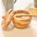 Natural OliveWood Natural OliveWood Sugar Bowl