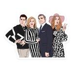 Sammy Gorin Sammy Gorin Sticker Schitt's Creek Rose Family Portrait
