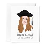 Sammy Gorin Sammy Gorin Card Schitt's Creek Alexis Rose Graduation Journey