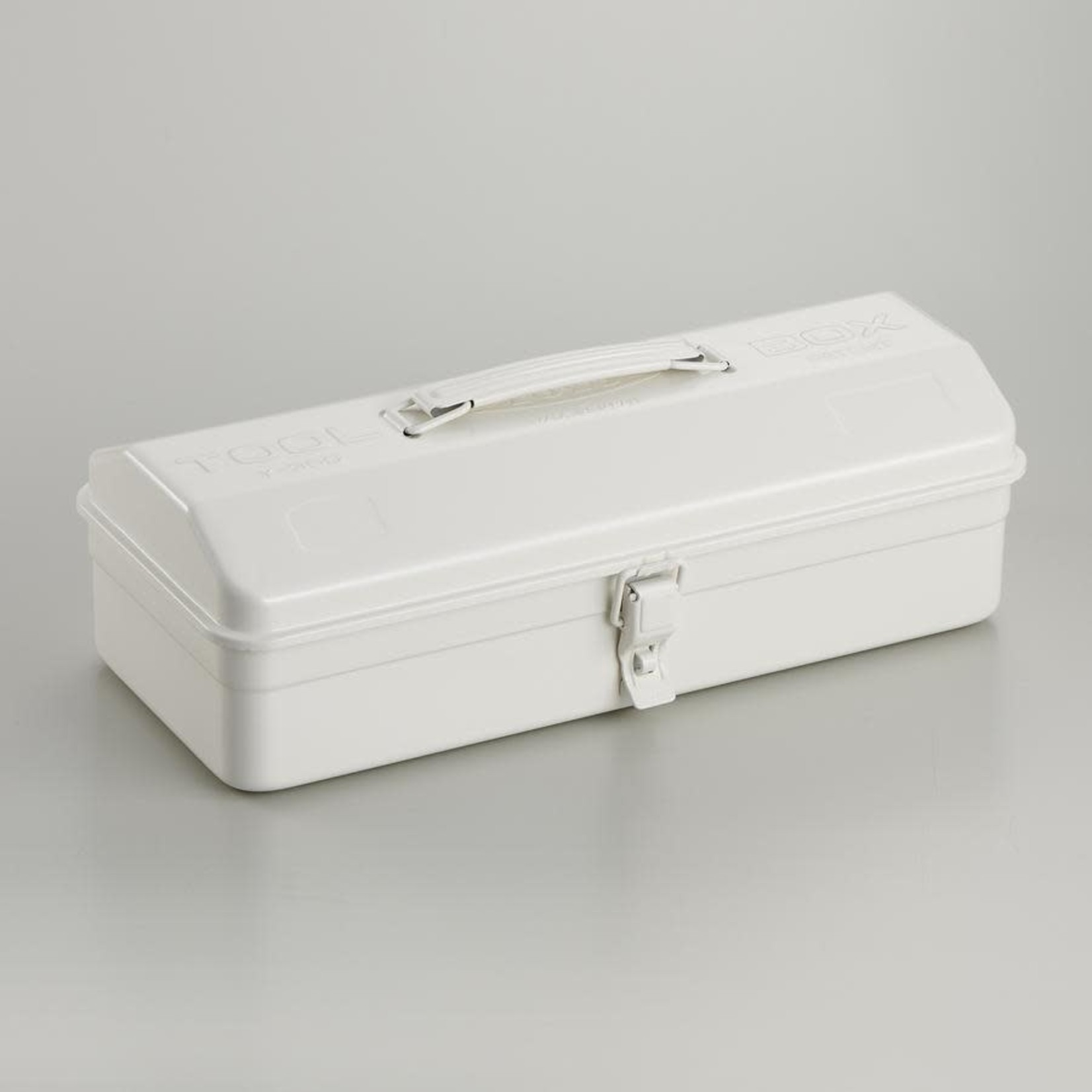 Toyo Toyo Steel Toolbox with Top Handle Y-350 White