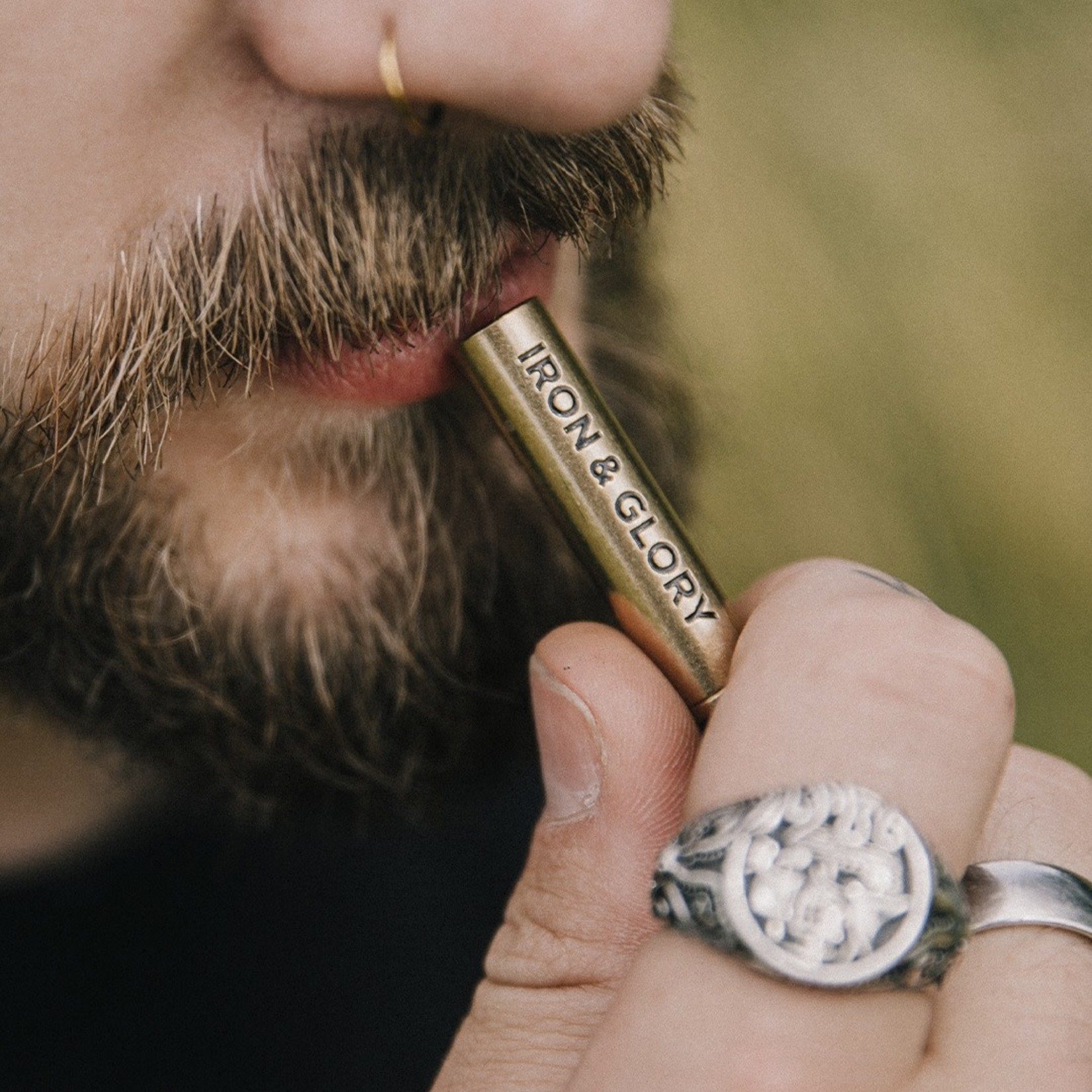 Iron & Glory Blow Whistle Keychain