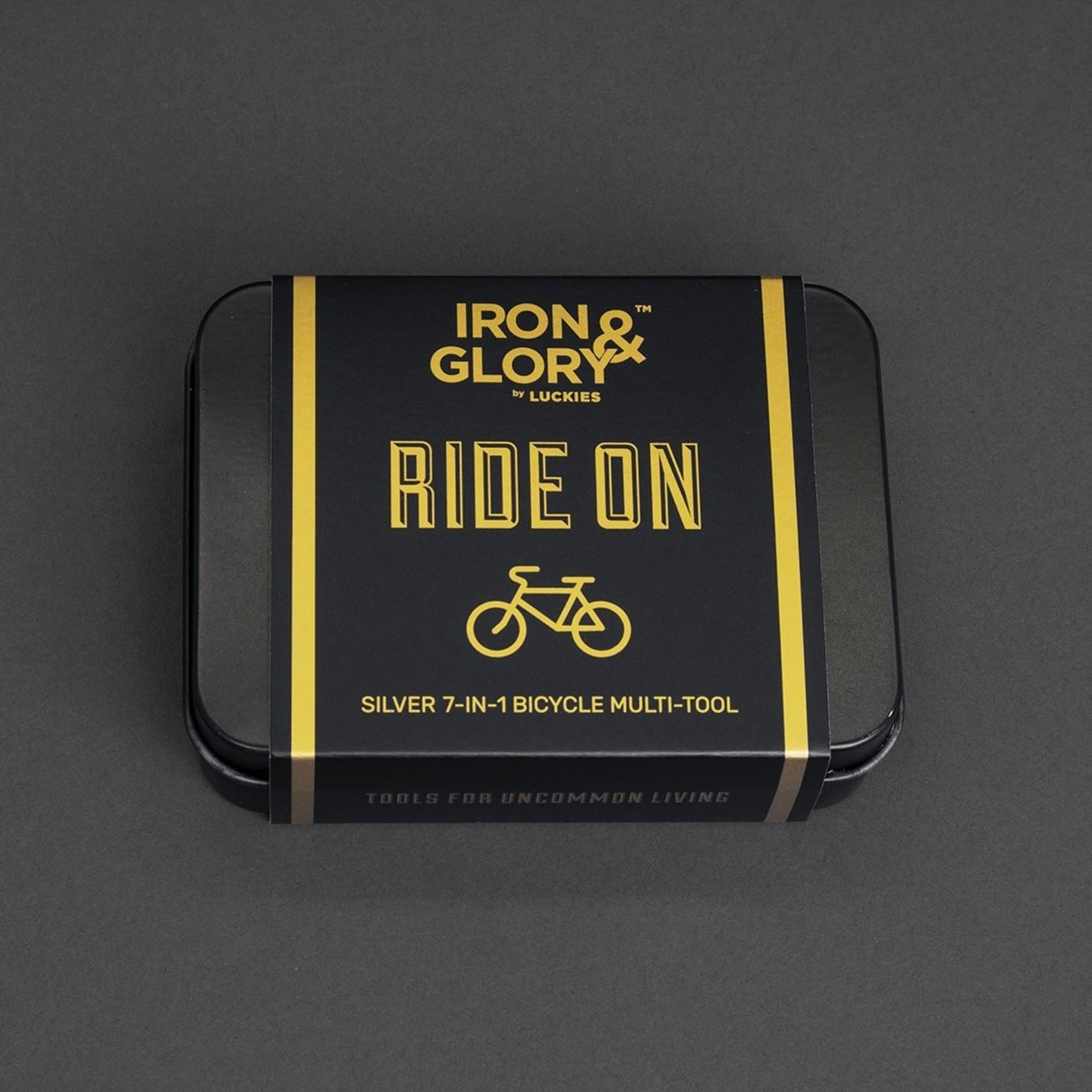 Iron & Glory Ride On Silver