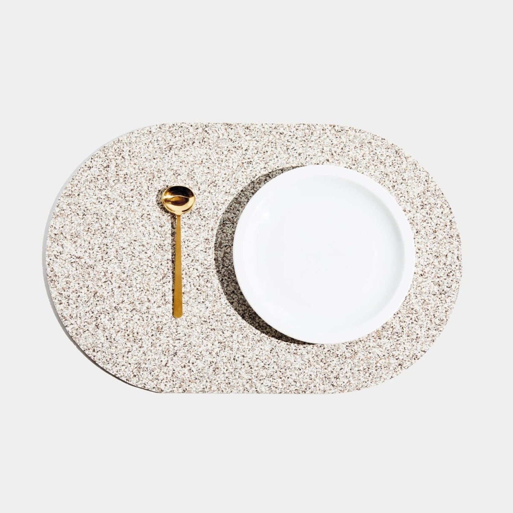 Slash Objects Slashed Objects Capsule Placemat Sand