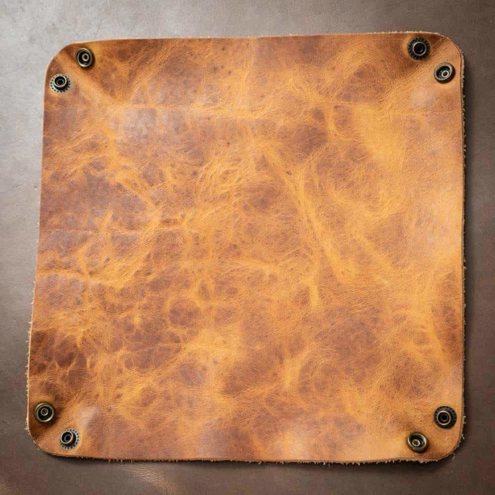 Popov Leather Popov Leather Valet Tray English Tan