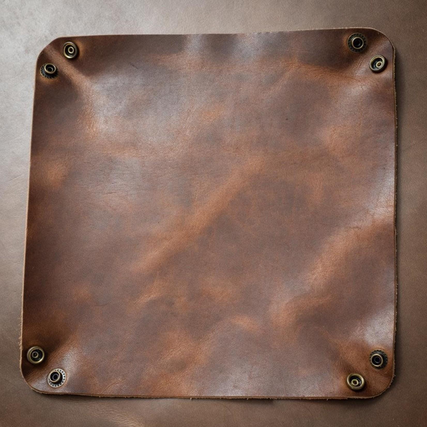 Popov Leather Popov Leather Valet Tray Heritage Brown