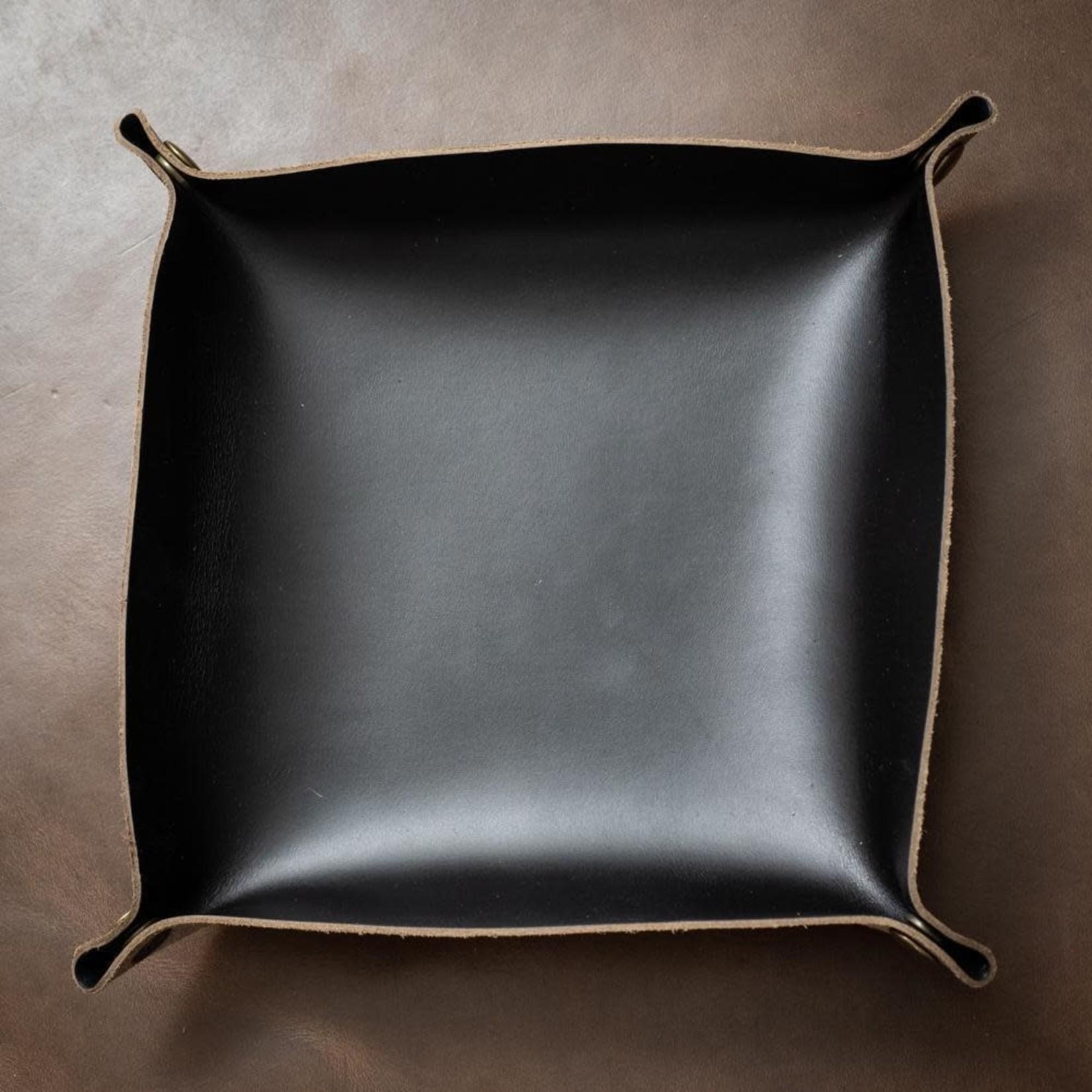 Popov Leather Popov Leather Valet Tray Black