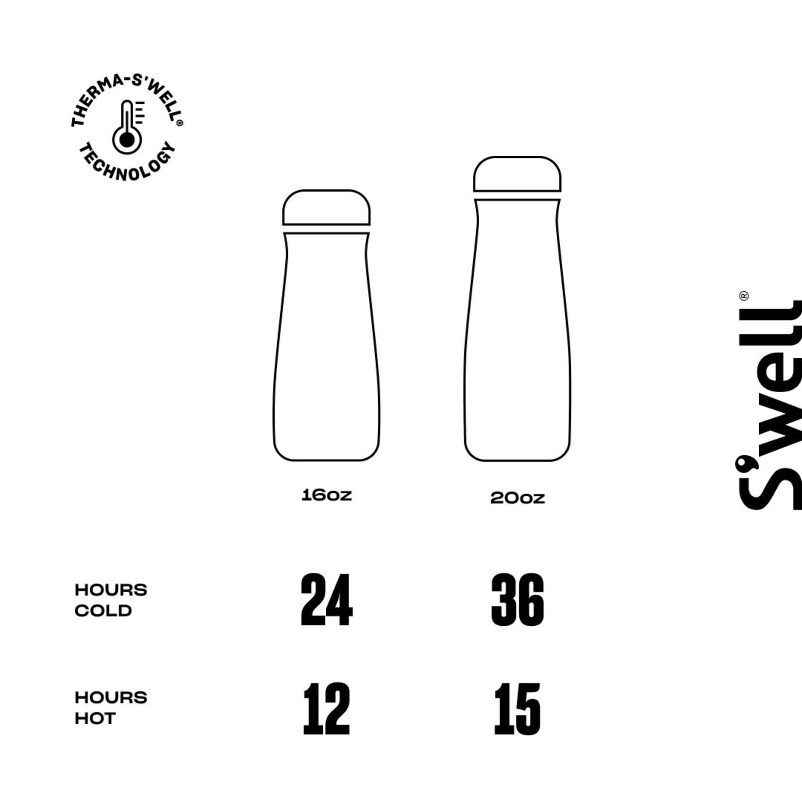 S'well S'well Bottle Traveler 20oz Stone Azurite