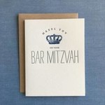 Lucky Bee Press Lucky Bee Blue Bar Mitzvah Crown