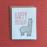 Lucky Bee Press Lucky Bee Happy Birthday Llama