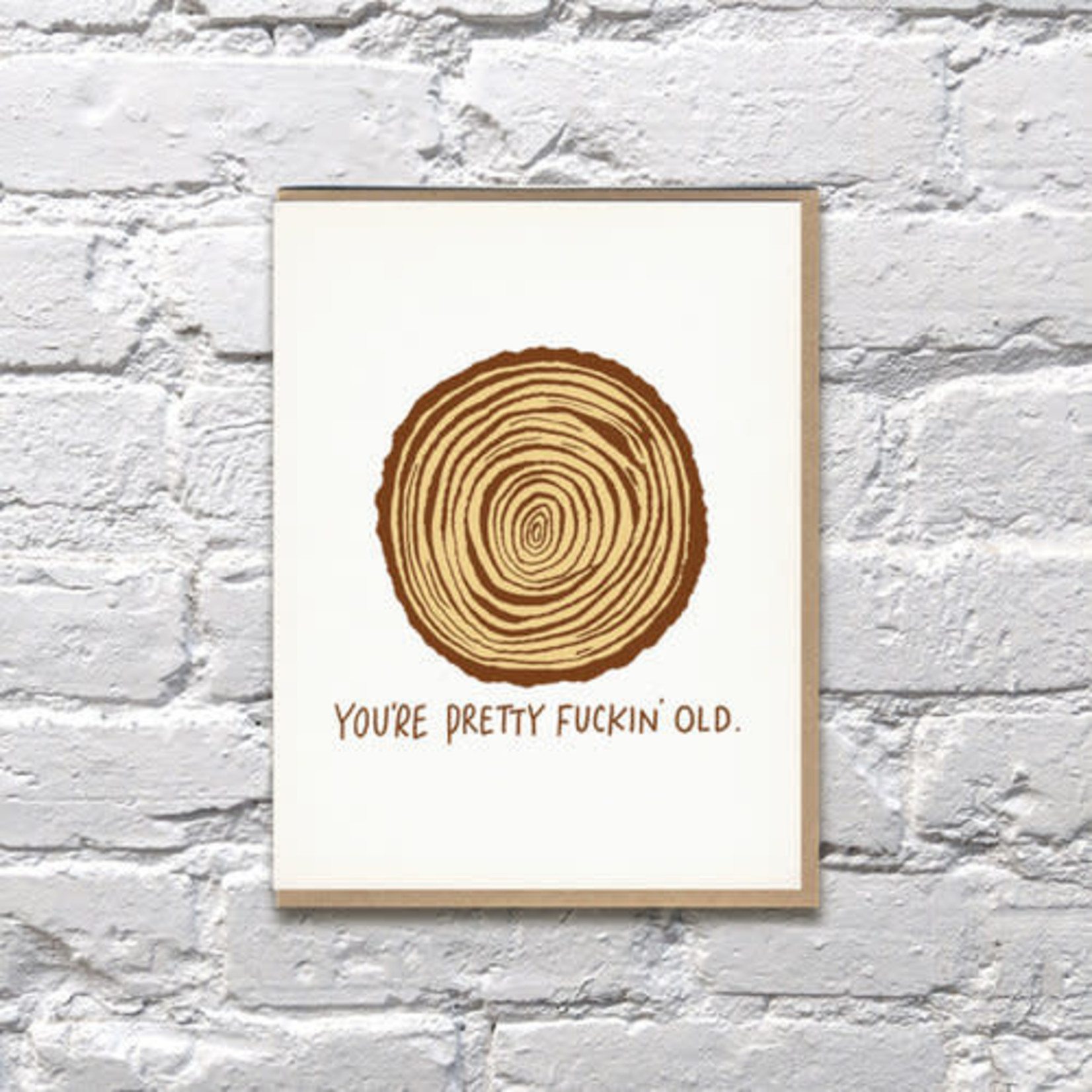 Bench Pressed Bench Pressed You're Fuckin Old Tree Rings