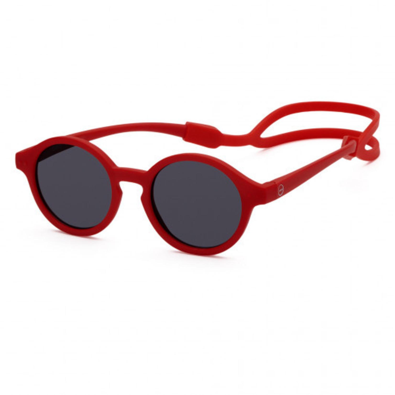 IZIPIZI Izipizi Kids Plus Sunglasses Red - Polarized