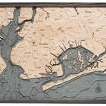 Wood Chart Wood Chart 24.5 x 31 - Brooklyn Grey
