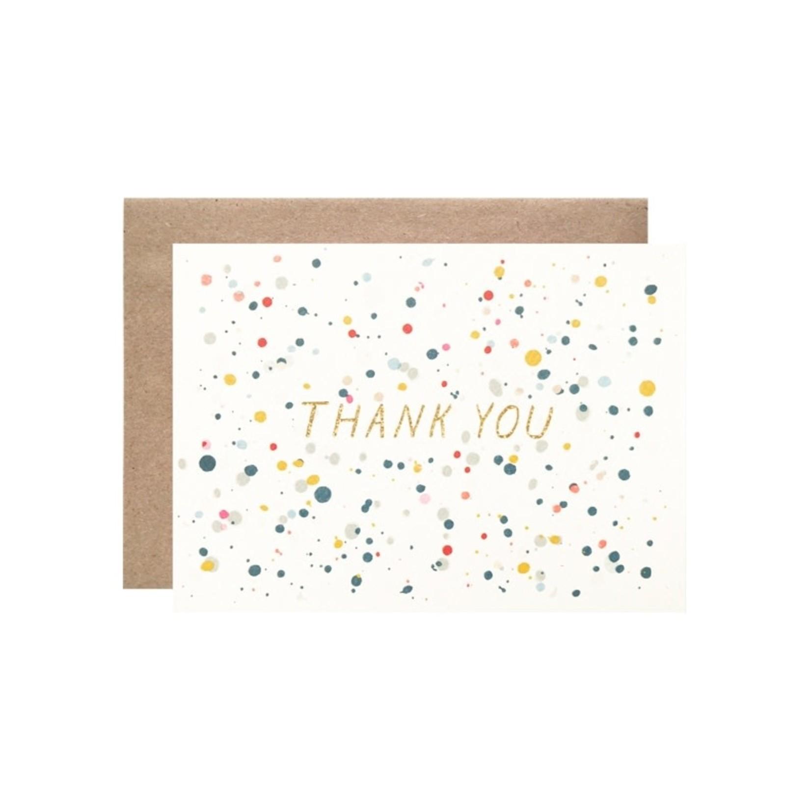 Hartland Brooklyn Hartland Brooklyn Box Set 8 - Thank You Splatter with Gold Glitter Foil