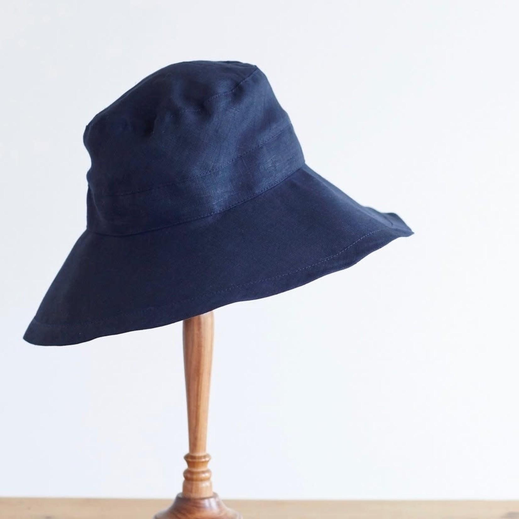 Fog Linen Fog Linen Linen Hat Nuit