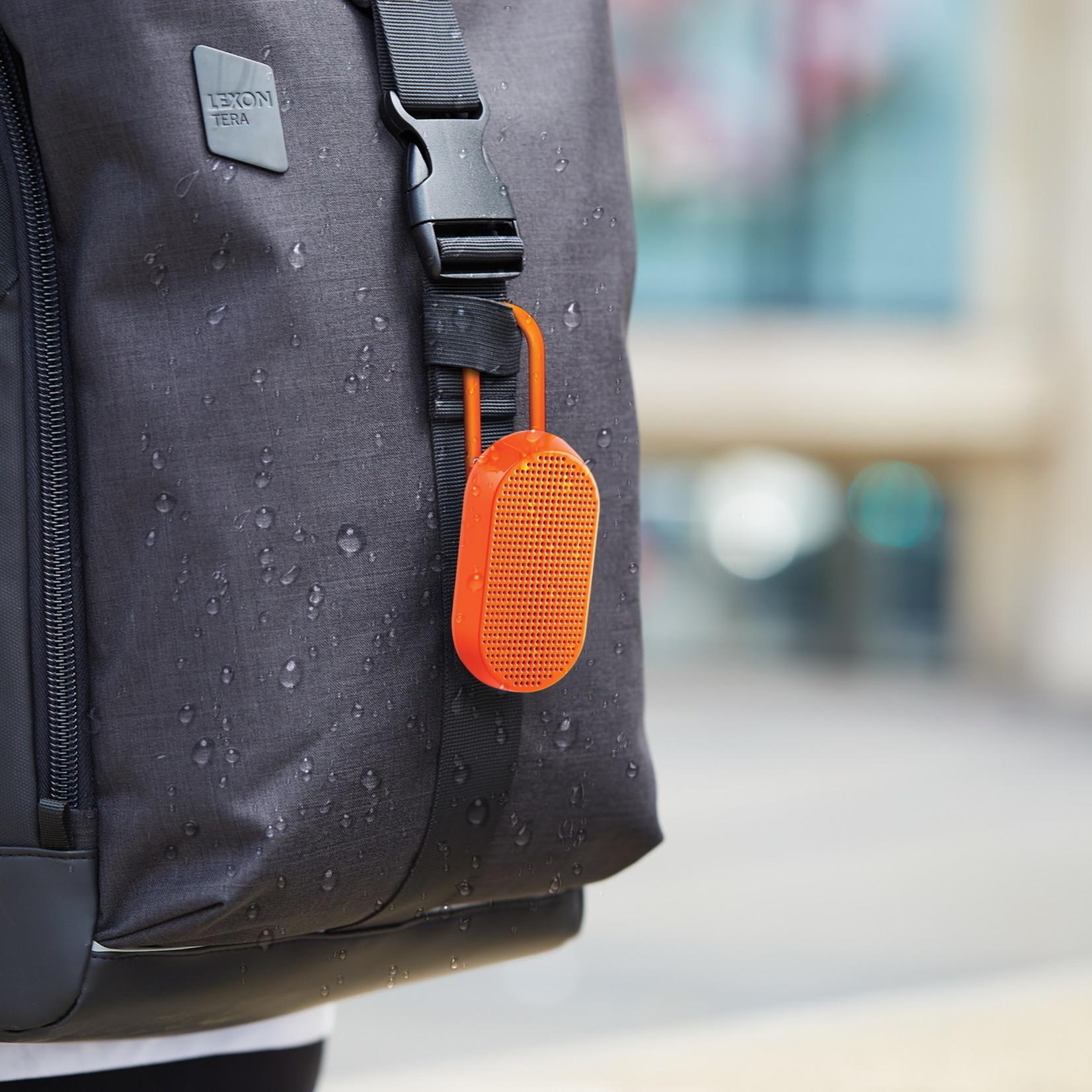Lexon Lexon Mino T Orange Water Resistant Bluetooth Speaker