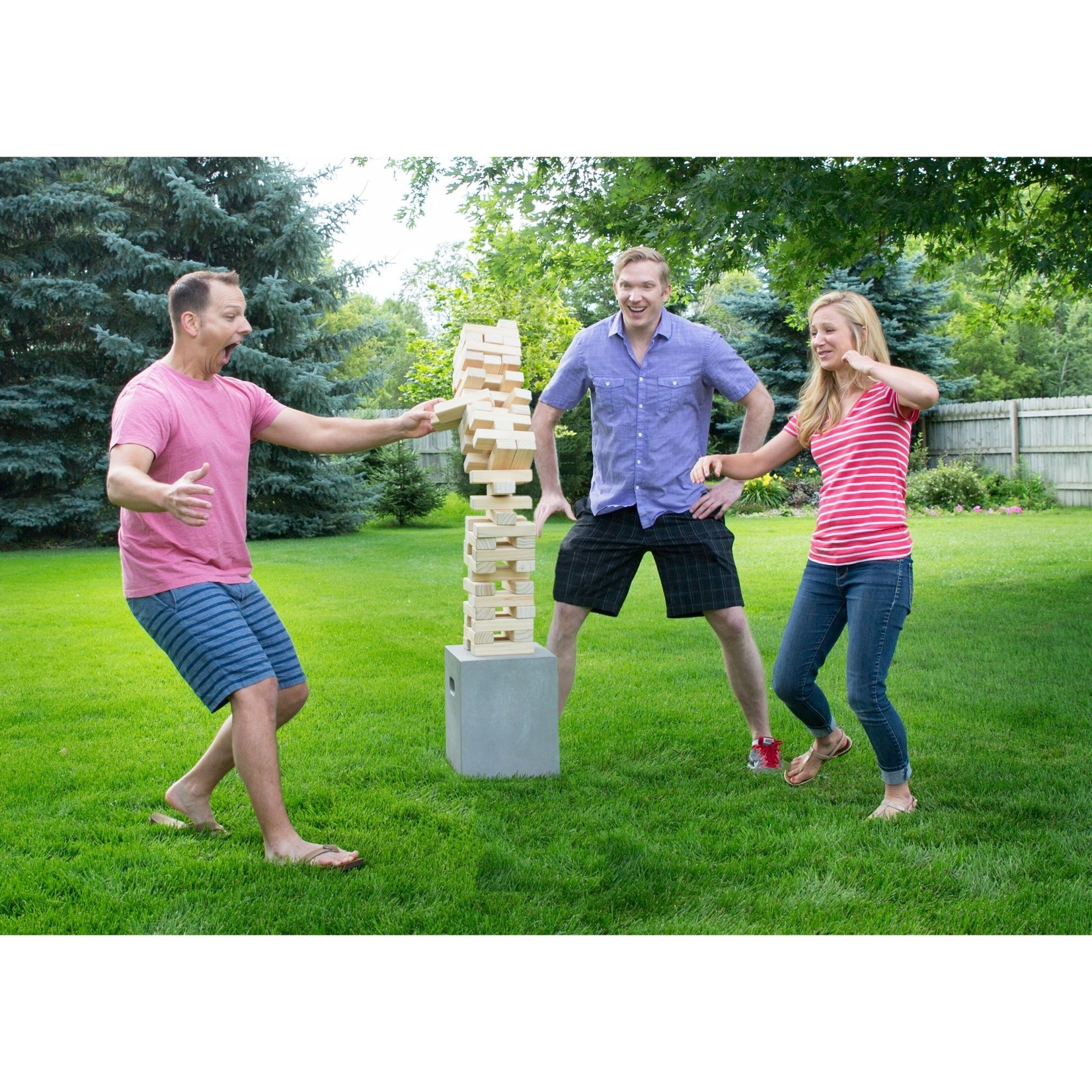 Yard Games Yard Games Large Tumbling Timbers with Carrying Case