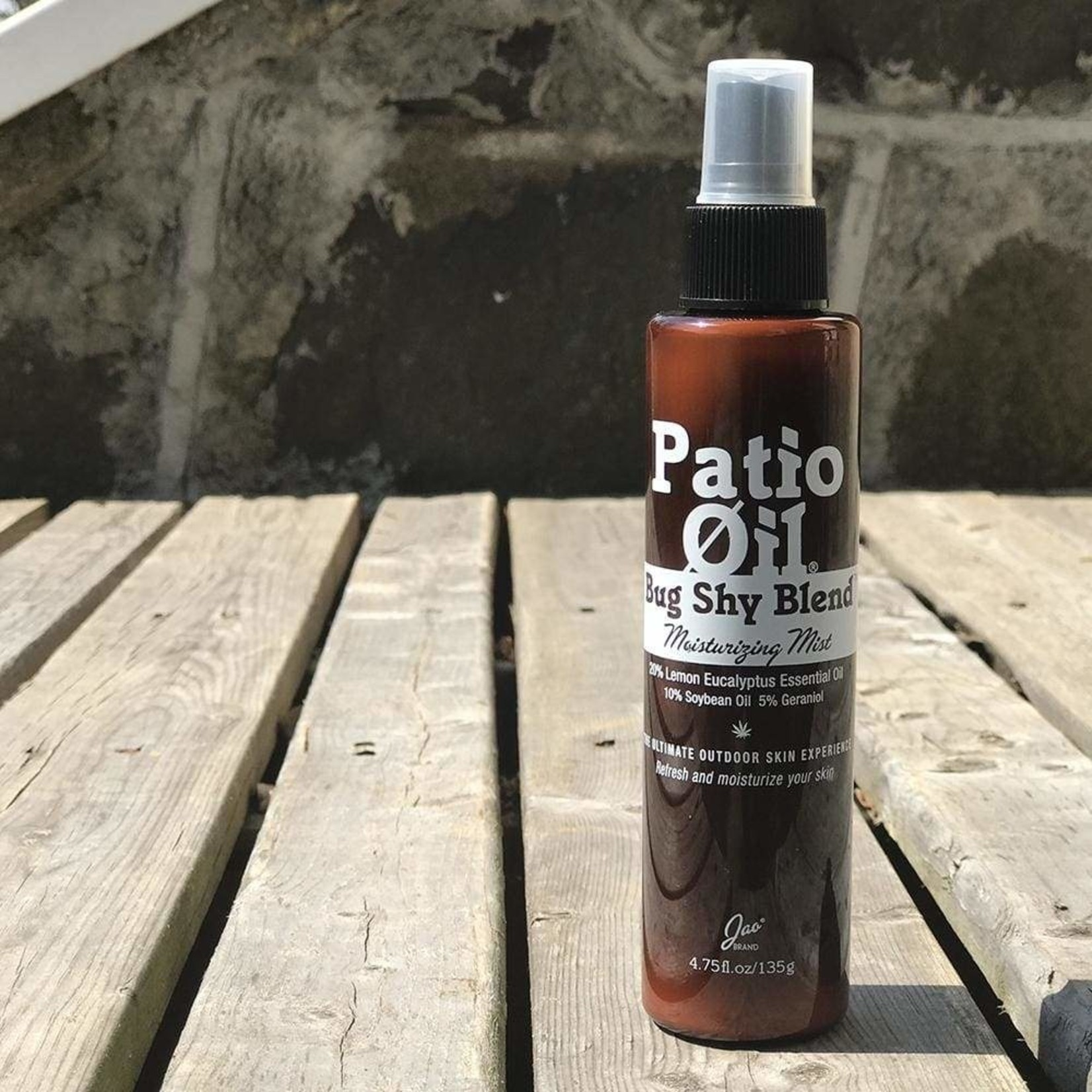 Jao Jao Patio Oil Moisturizing Mist  (4.75oz/135g)