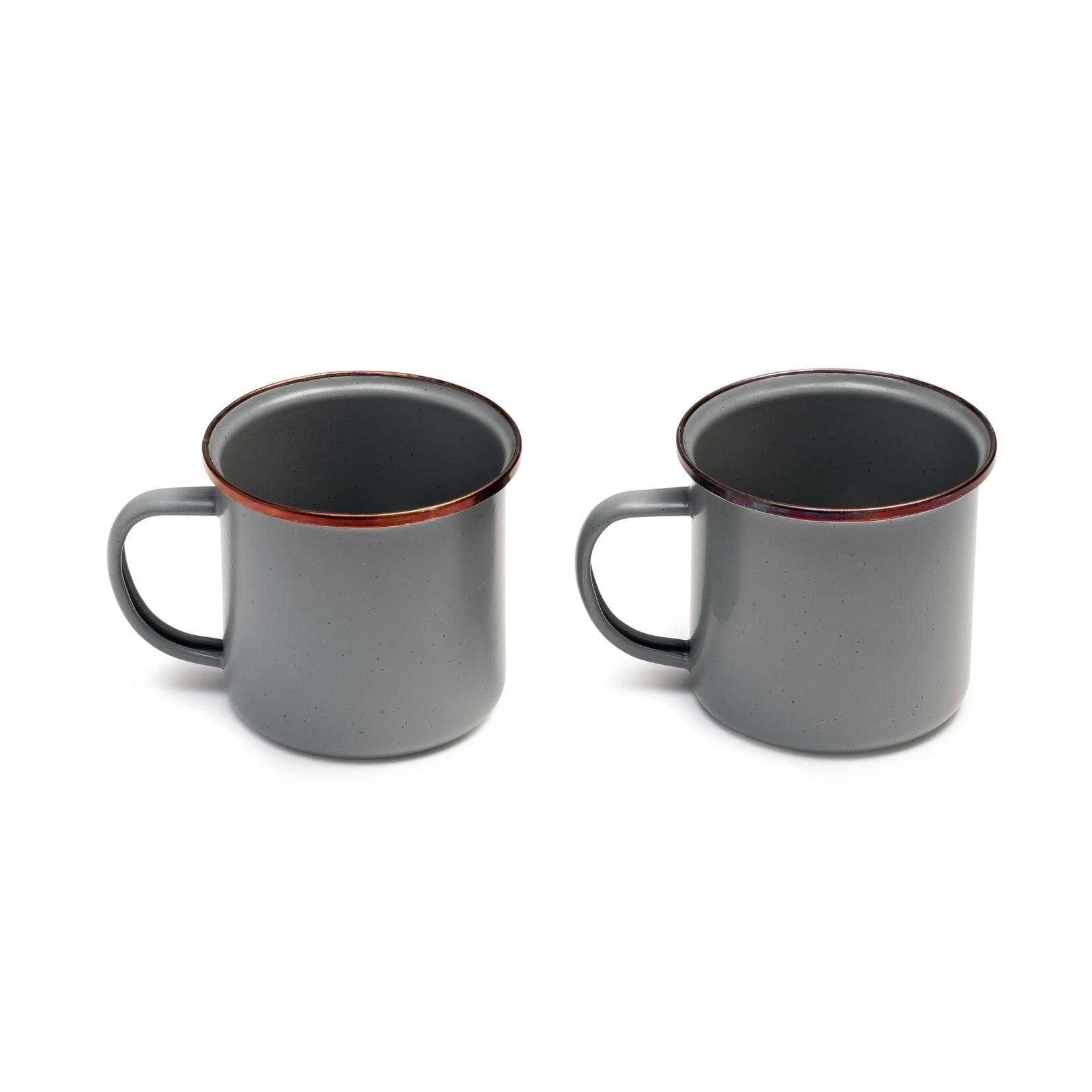 Barebones Barebones Enamel Coffee Cup Set of 2
