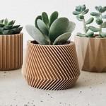 Minimum Design Minimum Design Mini Indoor Planters Oslo Natural