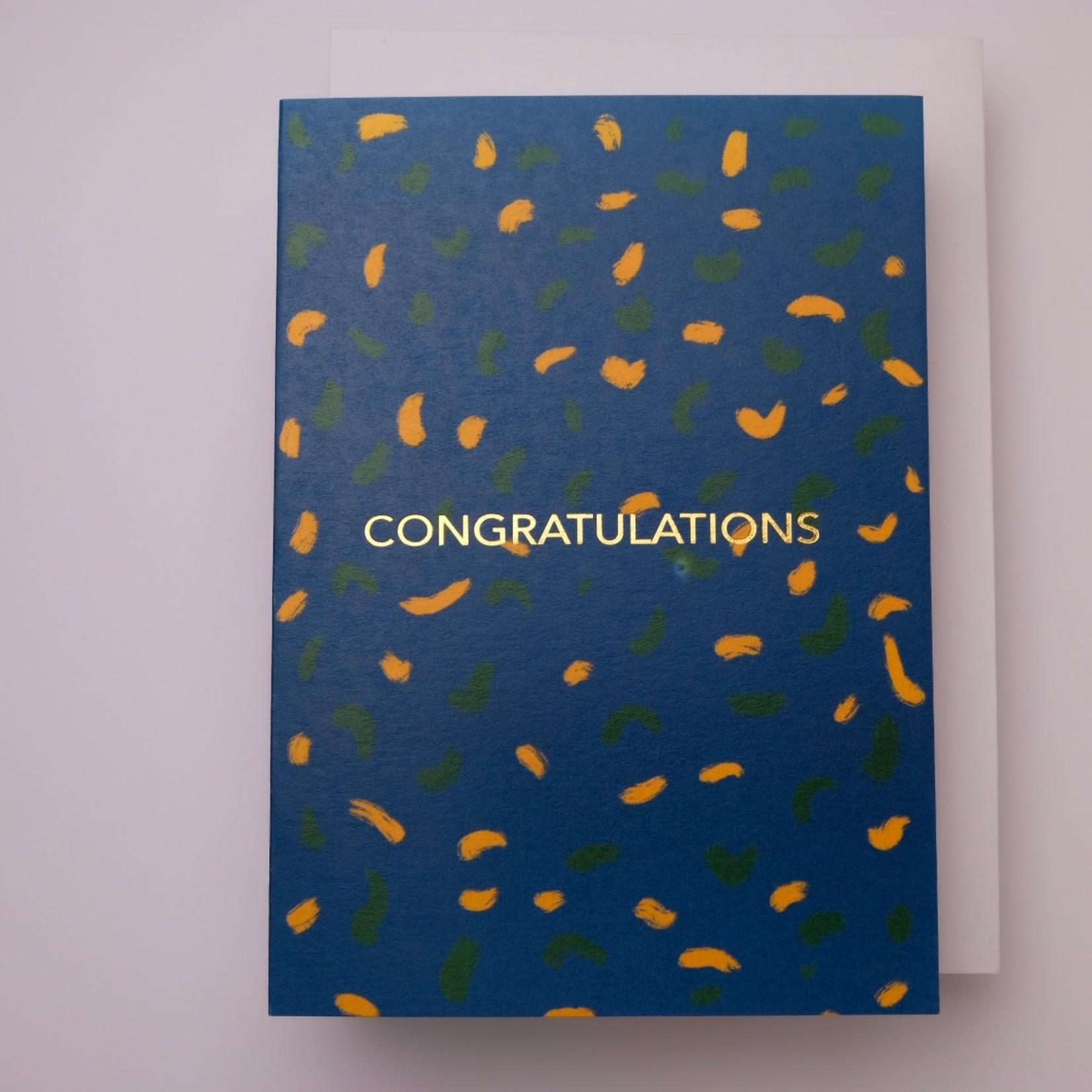 Paper in Print Paper in Print Congratulations Blue