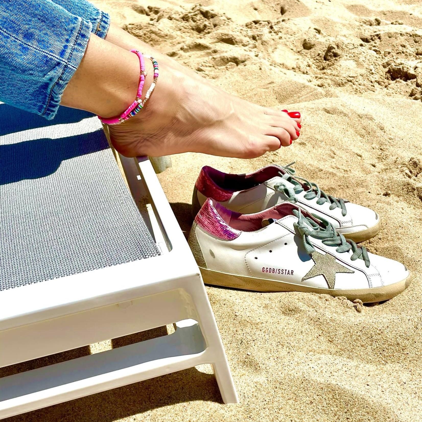 Olivia Le Olivia Le Rio Rainbow Anklet