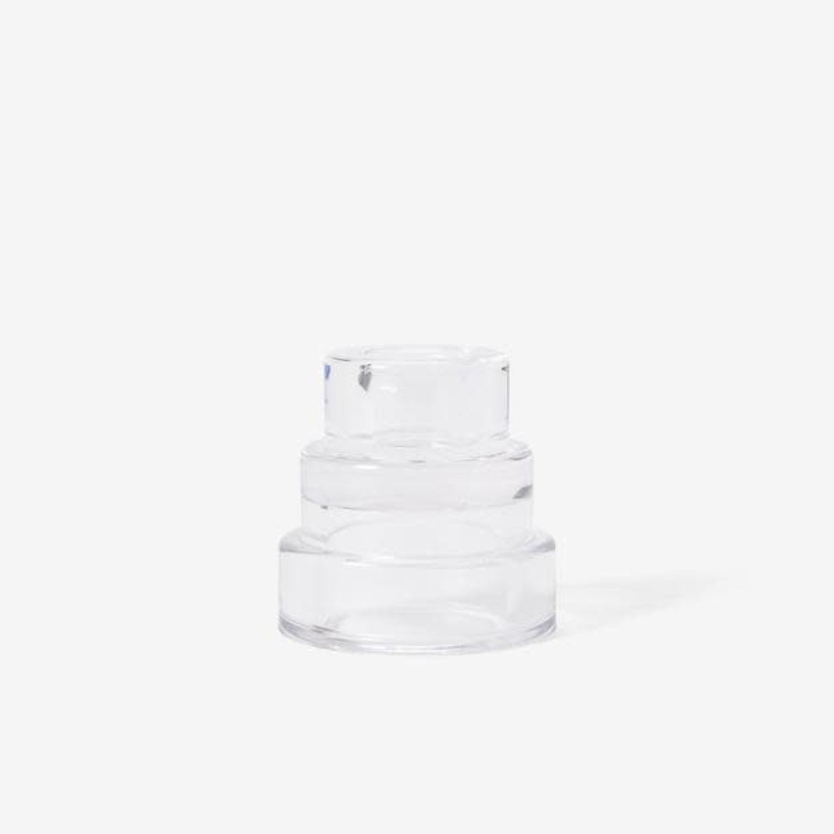Areaware Areaware Terrace Candle Holder Clear