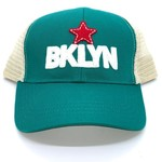 BKLYN Trucker Hat Two-tone Green/White