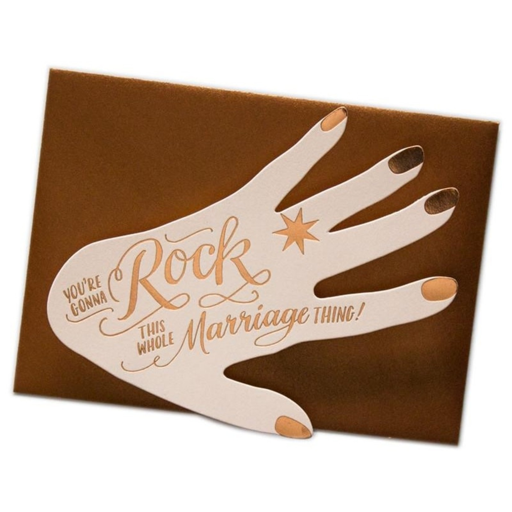 Ladyfingers Letterpress Ladyfingers Deluxe Rock This Marriage