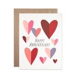 Hartland Brooklyn Hartland Brooklyn Anniversary Folded Hearts