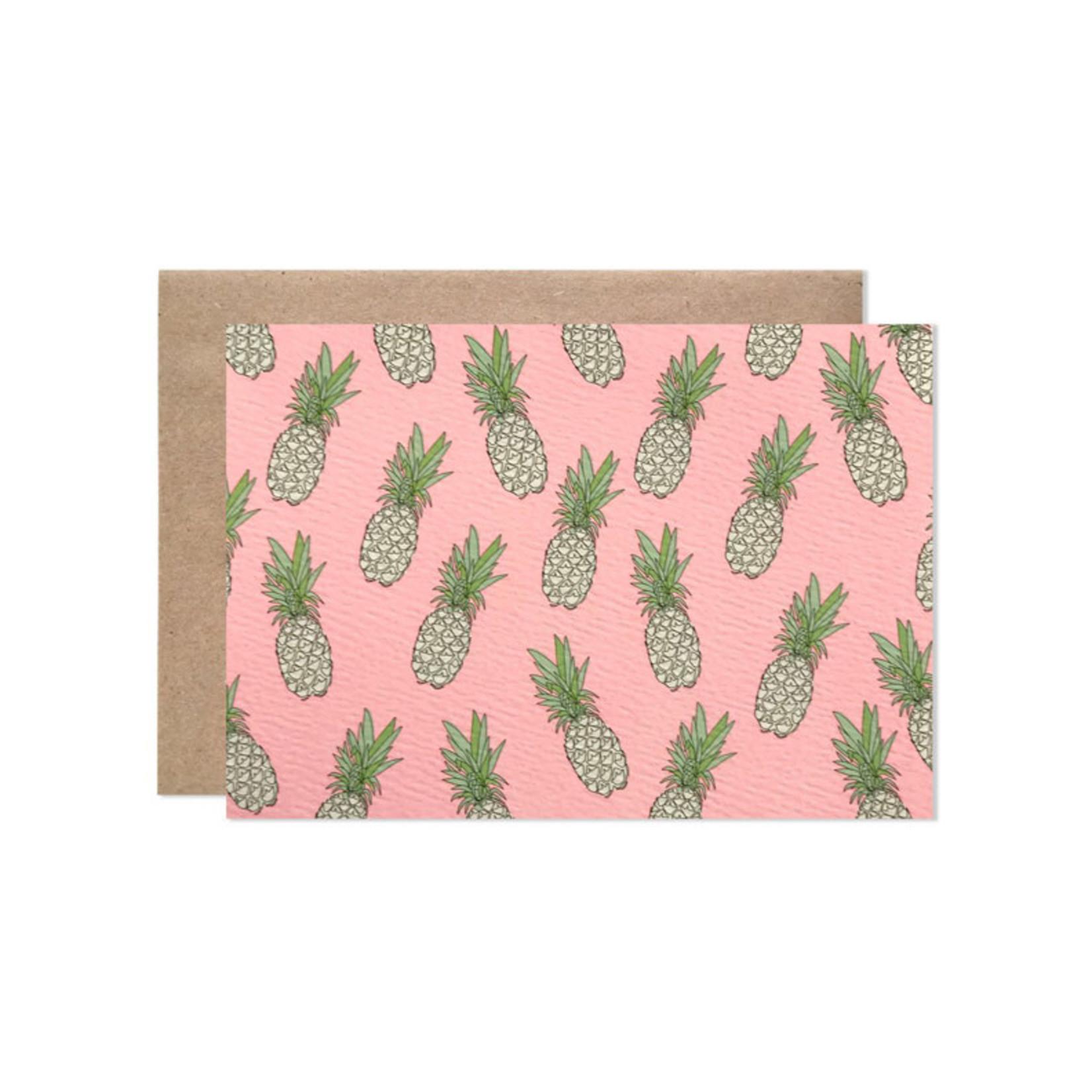 Hartland Brooklyn Hartland Brooklyn Pineapple Folding Note